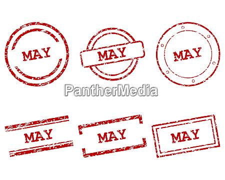 znaczki maj