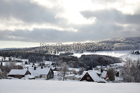 sniezny erzgebirge