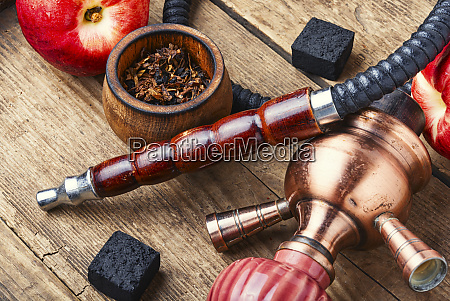 hookah with nectarine flavor