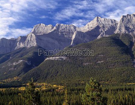 canada alberta banff national park mount