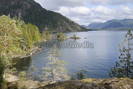 canada british columbia cowichan lake gordon