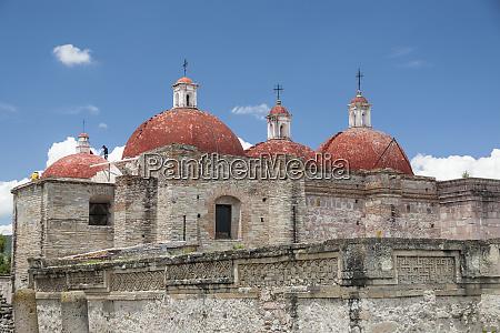 mexico oaxaca mitla the domes at