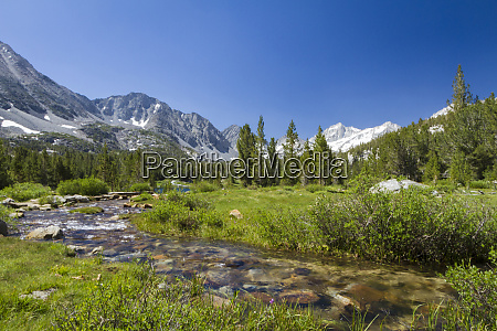 usa california little lakes valley one