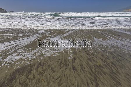 usa california big sur surf on