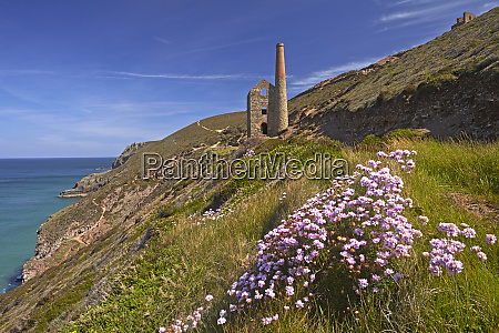 wheal coates tin mine and engine