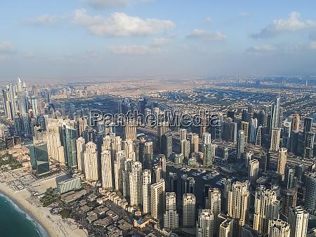 panoramiczny widok z lotu ptaka na