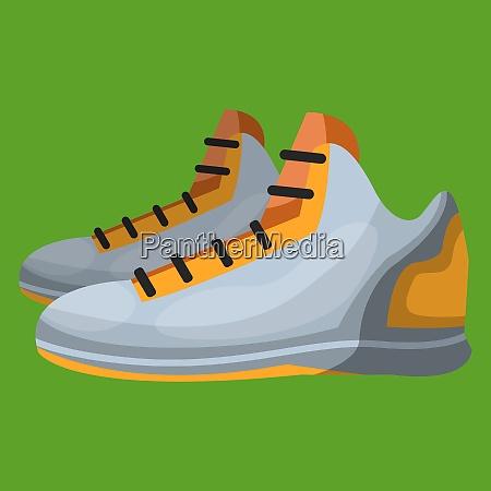 sports shoe vector color illustration