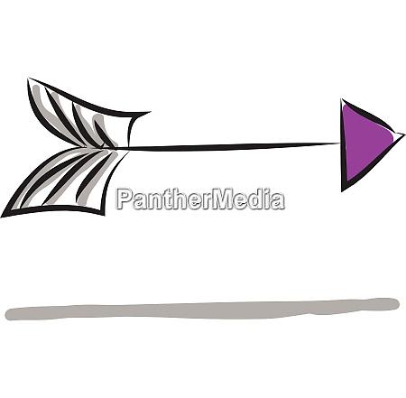 purple arrow showing right illustration