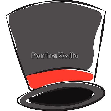 magicians hat vector or color illustration