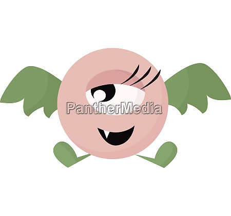 clipart of a cute little flying