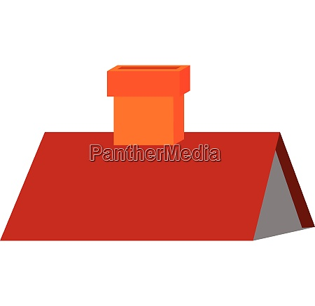 clipart of a red colored triangular