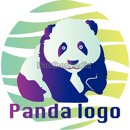 blue and purple panda illustration inside