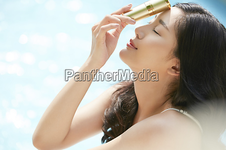 woman beauty summer