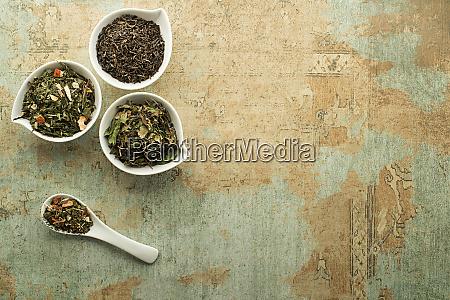 liscie herbaty