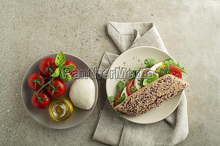 kanapka zdrowa