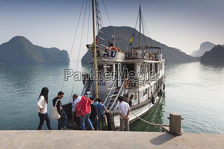 vietnam halong bay tito island water