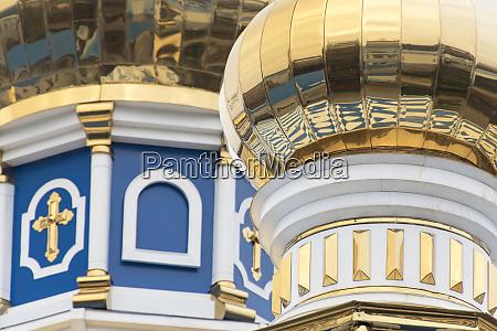 dome detail russian orthodox church odessa