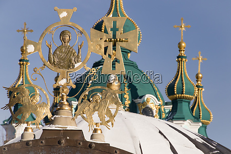 religious symbols st andrews church kiev