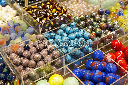 new york city ny usa marbles