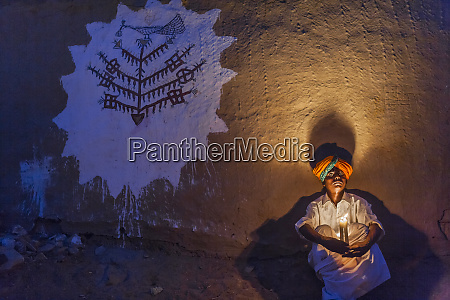life, in, a, small, rajasthan, village, - 27704121