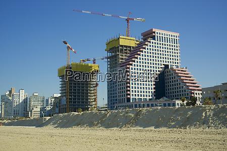 izrael tel awiw budowa nowych budynkow