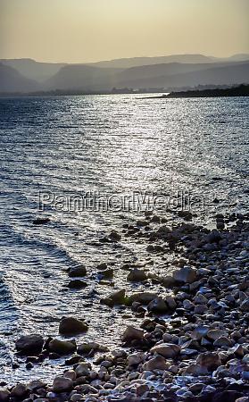 sea of galilee capernaum from saint