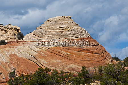 usa utah blanding cupcake rock formations