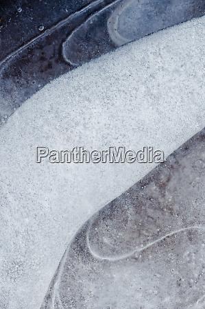 usa utah abstract frozen ice pattern