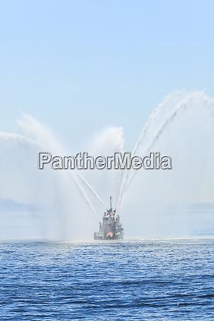 seattle fire boat widoki na pokladzie