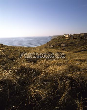 europa anglia lands end glebokie trawy
