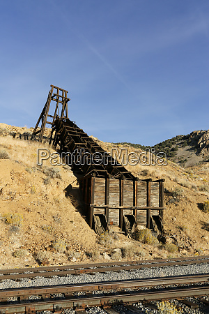 old mining equipment gold hill nevada