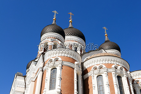 russian orthodox alexander nevsky cathedral in