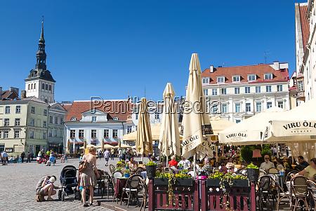 raekoja plats plac ratuszowy stare miasto