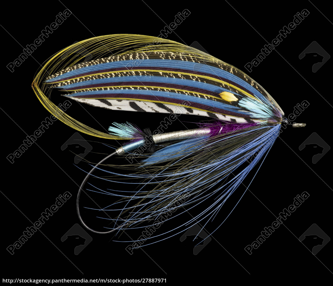 atlantic, salmon, fly, designs, 'sentinal' - 27887971