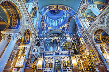 metropolitan basilica dome cathedral athens greece