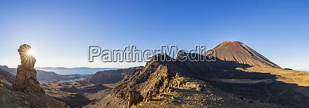 nowa zelandia wyspa polnocna panorama gory