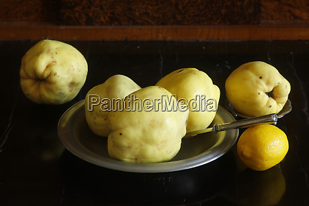 still, life, with, quinces, and, lemon - 28024490