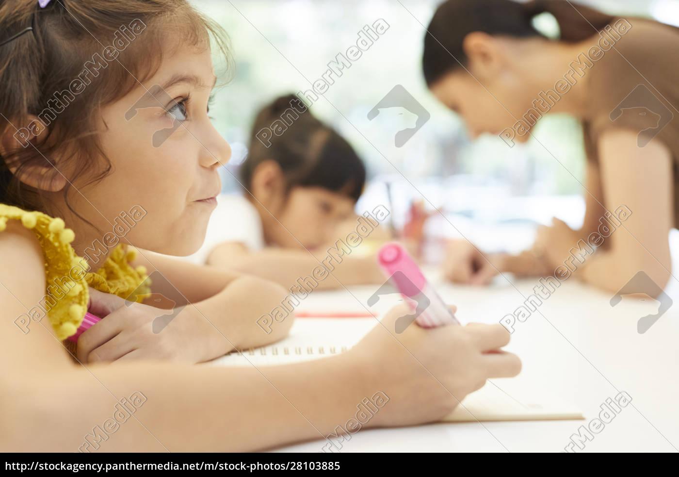 Życie, szkolne, dla, dzieci, w, wieku - 28103885