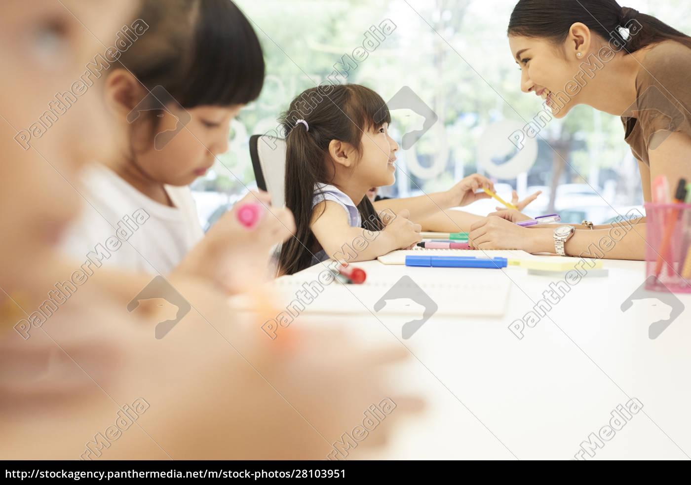 Życie, szkolne, dla, dzieci, w, wieku - 28103951