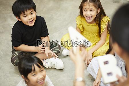 Życie, szkolne, dla, dzieci, w, wieku - 28104020