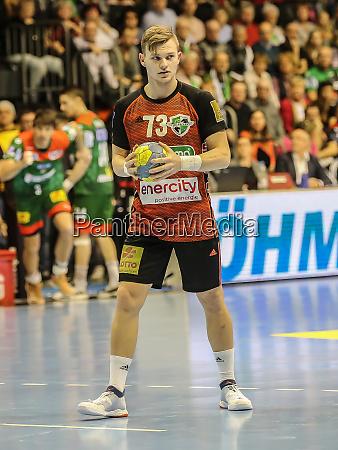 niemiecki, piłkarz, ręczny, timo, kastening, tsv, hannover-burgdorf - 28135297