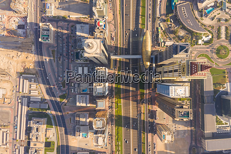 aerial view of trade center 1