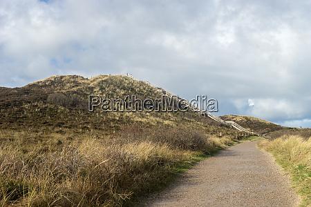 uwe, wydma, w, pobliżu, kampen - 28420112