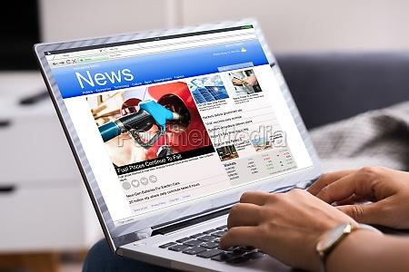 czytanie online aktualnosci stronie na komputerze