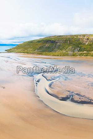 widok z lotu ptaka na piaskowce