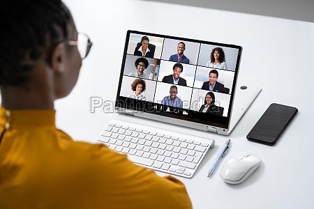 wideokonferencji online praca polaczenia