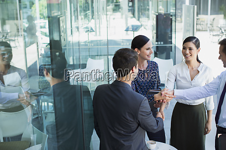 business, people, shaking, hands - 28736091