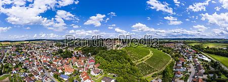 niemcy badenia wirtembergia untergruppenbach panorama zamku