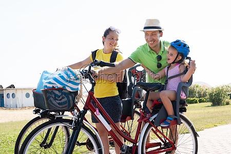 rodzinny, rower, na, zewnątrz - 28807291