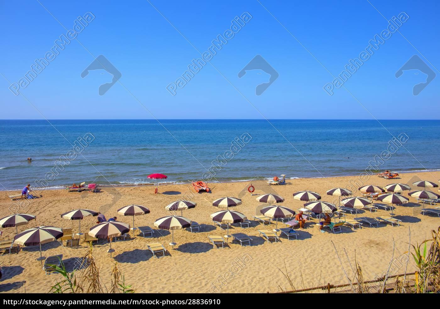 wybrzeże, sabaudia, latina, lazio, włochy, europa - 28836910